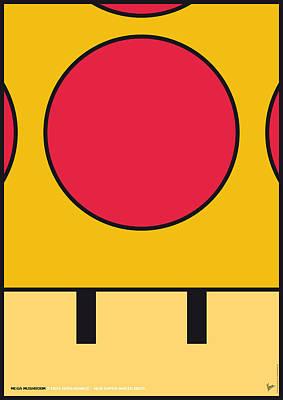 My Mariobros Fig 05c Minimal Poster Poster by Chungkong Art