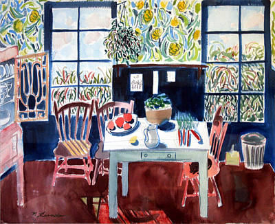 My Matisse Kitchen Poster