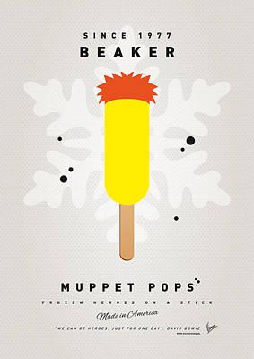 My Muppet Ice Pop - Beaker Poster