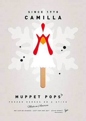 My Muppet Ice Pop - Camilla Poster by Chungkong Art