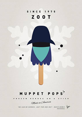My Muppet Ice Pop - Zoot Poster