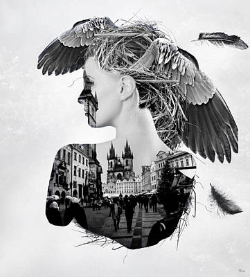 My Nest Poster by Bojan Jevtic