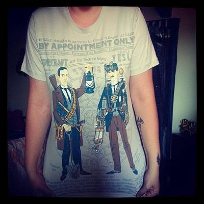 My New T-shirt (thanks To @pacy1988 & Poster