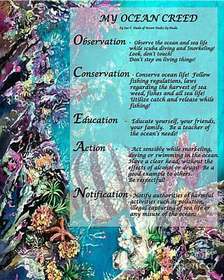 My Ocean Creed Poster