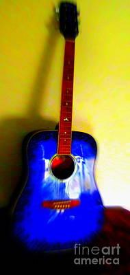 My Six Strings Poster by Roberto Gagliardi