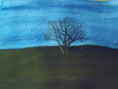 My Starry Sky Poster