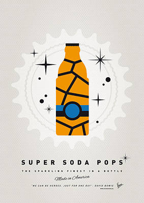 My Super Soda Pops No-03 Poster by Chungkong Art