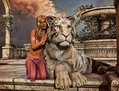 My Tiger Poster by Bellatryx Noir
