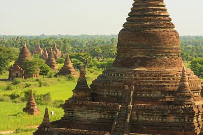 Myanmar Bagan The Plain Of Bagan Poster