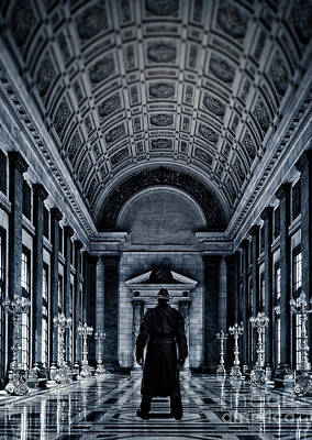 Mysterious Man Poster by Edward Fielding