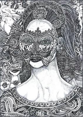 Mystery Girl Poster by Giovanni Caputo
