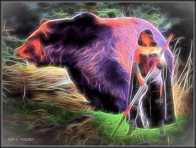 Mystic Druid Poster