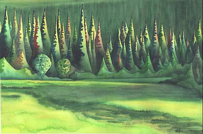 Mystic Marsh Poster by Anne Havard