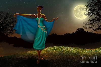 Mystic Moonlight V1 Poster