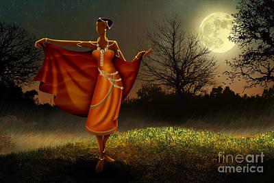 Mystic Moonlight V2 Poster