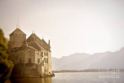 Mystical Chateau Chillon Poster by Ivy Ho