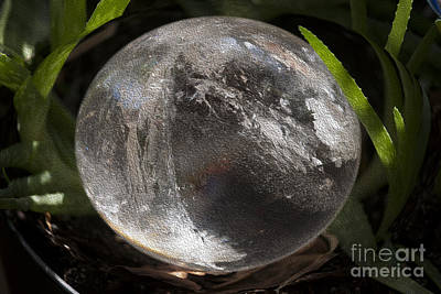 Mystical Crystal Sphere Poster