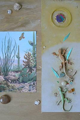 Mystical Desert  C Poster