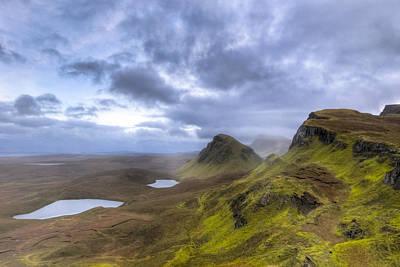 Mystical Landscape On Skye Poster by Mark E Tisdale