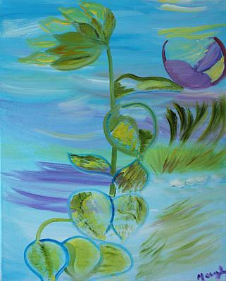 Mystical Moods Poster by Meryl Goudey