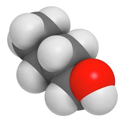 N-butanol Molecule Poster