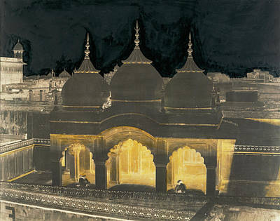 Nagina Mosque, Agra Fort, India Dr. John Murray Poster by Litz Collection