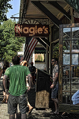 Nagle's Apothecary Cafe Poster