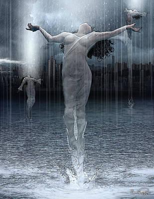 Naiads Water Nymph Poster