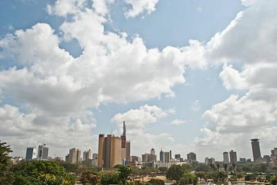 Nairobi Kenya Poster by Mesha Zelkovich