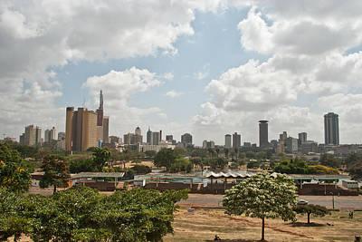 Nairobi Panorama Poster by Mesha Zelkovich