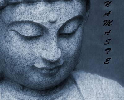 Namaste Buddha Poster by Dan Sproul