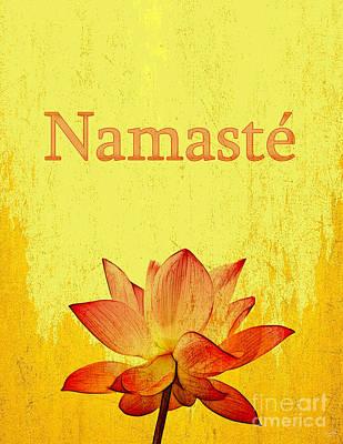 Namaste Poster by Nishanth Gopinathan