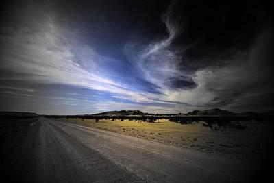 Namibia Landscape Poster