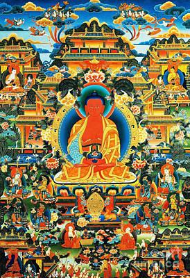 Namo Amitabha Buddha 24 Poster by Lanjee Chee