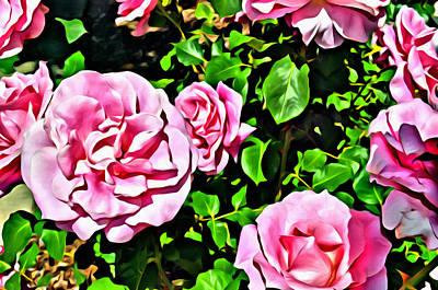 Nana's Roses Poster