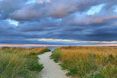Nantucket Beach Path Poster