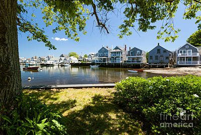 Nantucket Homes By The Sea Poster