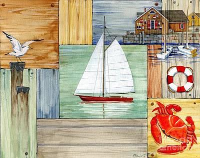 Nantucket II Poster by Paul Brent