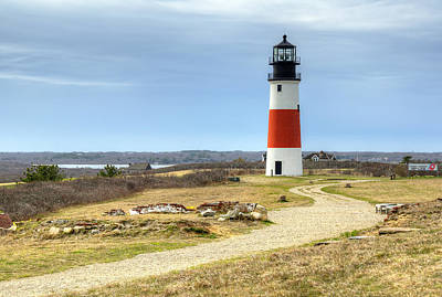 Nantucket's Sankaty Head Light Poster