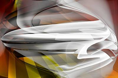 Napkin Folding - Abstract Poster