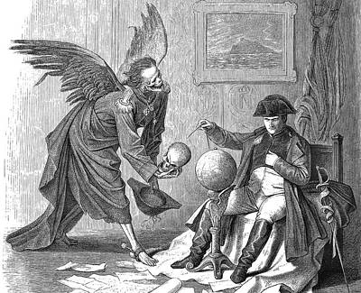 Napoleon And Death Poster by Bildagentur-online/tschanz