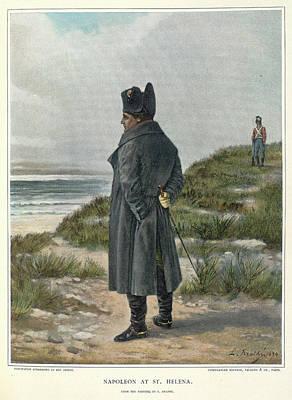 Napoleon At St. Helena Poster