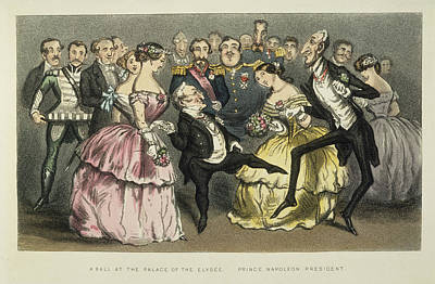 Napoleon IIi At A Ball Poster by Granger