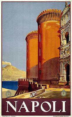 Napoli Italy Poster by Georgia Fowler