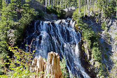 Poster featuring the photograph Narada Falls by Anthony Baatz