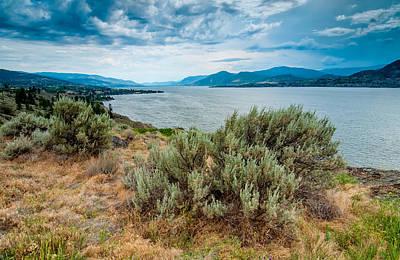 Naramatas Okanagan Lake Poster