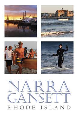 Narragansett Rhode Island Photo Poster Poster by Tim Fogarty