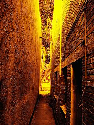 Narrow Way To The Light Poster by Glenn McCarthy Art and Photography