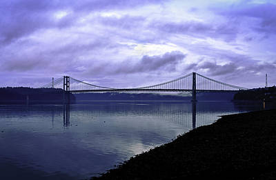 Poster featuring the photograph Narrows Bridge by Anthony Baatz