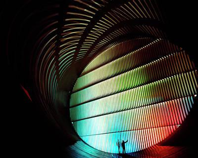 Nasa's Transonic Wind Tunnel Poster by Nasa/bill Taub